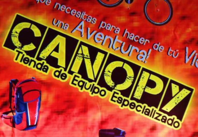 Canopy, tienda de equipo especializado.